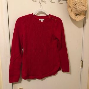 Charter Club red sweater